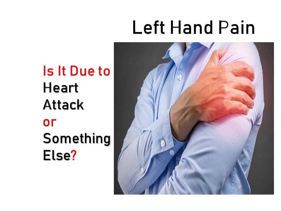 which doctor to consult for left hand pain